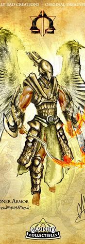 "Uriel in ""Executioner"" Armor ~ ""Sacrament of Confirmation"""