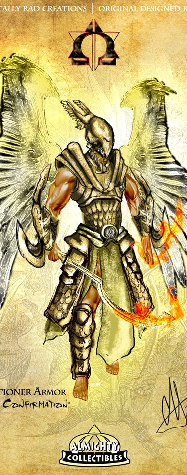 "Uriel in ""Executioner"" Armor ~ ""Sacrament of Confirmation"""