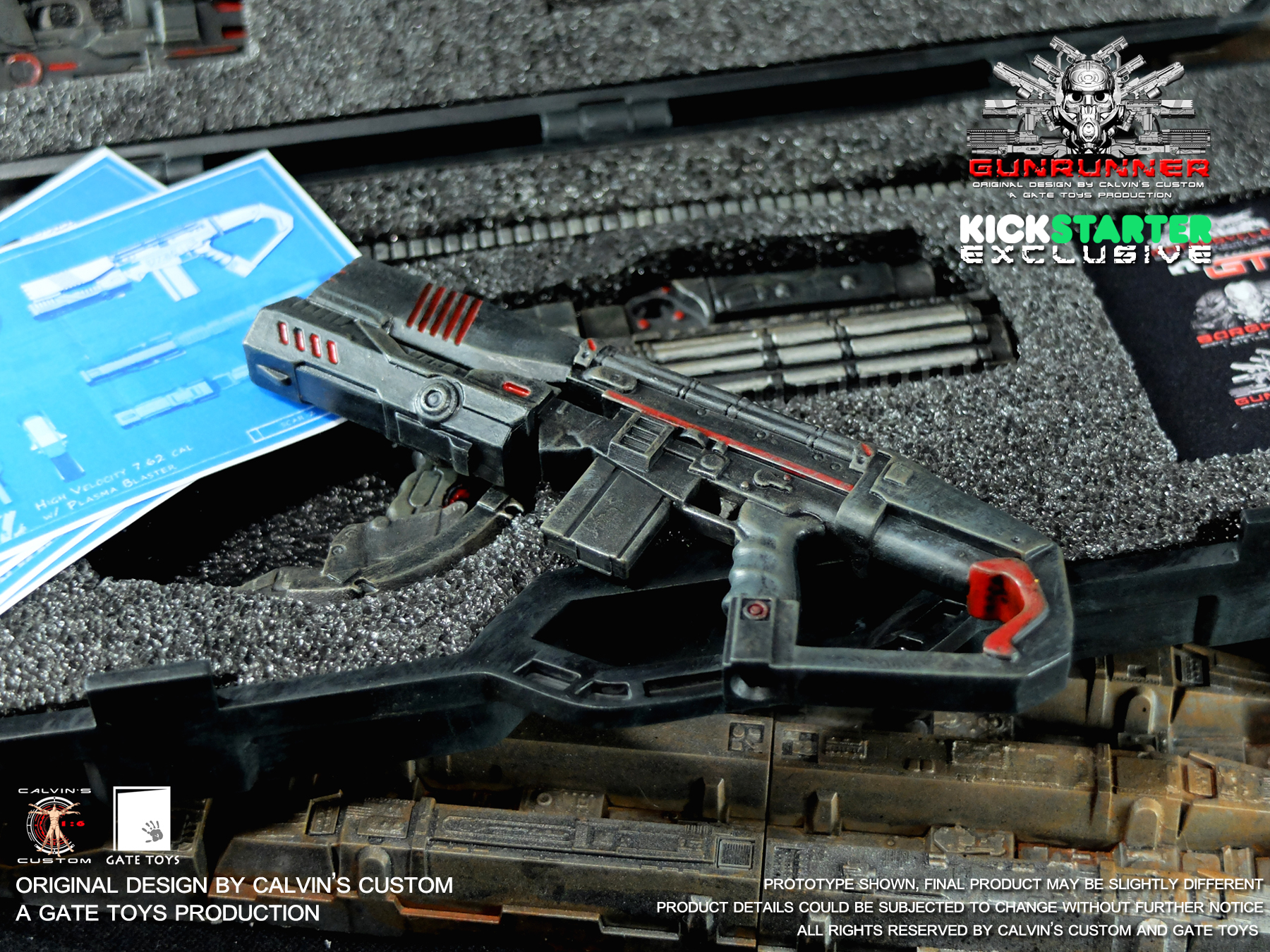 SCARZ - Black Ops Paint