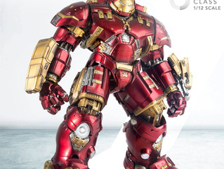 Comicave Ominclass 1/12 HULKBUSTER debut and Pre-Order @ ACGHK 2018