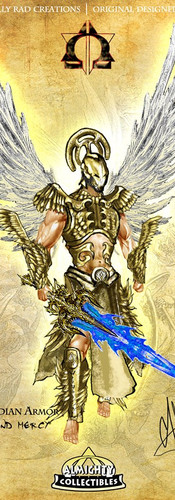 """Michael in """"Guardian"""" Armor ~ """"Righteousness and Mercy"""""""