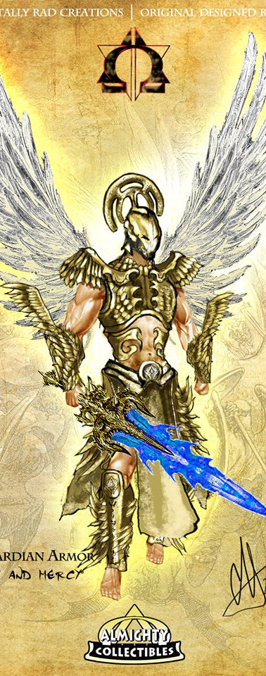 "Michael in ""Guardian"" Armor ~ ""Righteousness and Mercy"""