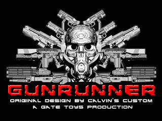 "Calvin's Custom X GATE TOYS announced  ""GUNRUNNER"" 1/6 Advanced Ballistic Weapons set"