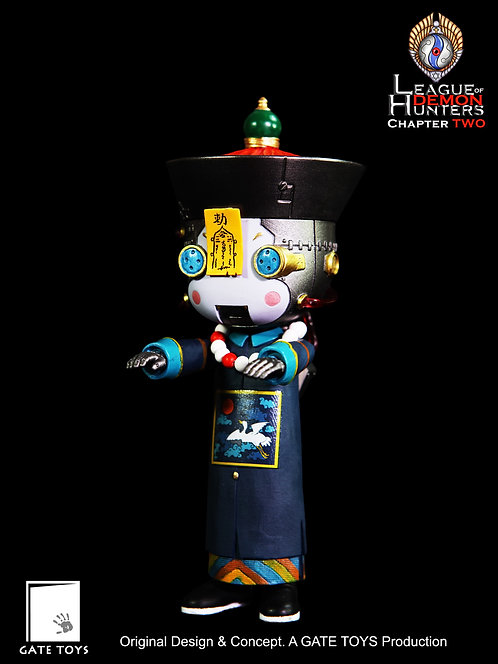 "GATE TOYS ""League of Demon Hunters"" Chapter 2 Robotic Baby Vamp ""Tin Bao"""