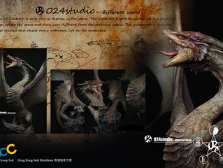 Introducing 024Studio - Fantasy Dragon sculpture creator