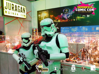 GATE TOYS proudly presented at @ Indonesia Comic Con by Juraganmainan & 1st STEP