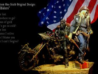 "Calvin's Custom 1:6 Original Design ""MaSKULL Rider"" & ""Sheriff Undead"""