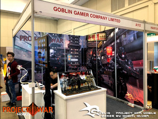 Calvin's Custom X Project War Mobile @ C3 AFA - ANIME FESTIVAL ASIA​, Jarkata, Indonesia