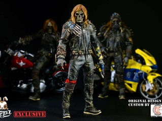 Calvin's Custom X 7TOYS7 Original Design 1/6 one sixth scale custom UNDEAD BIKER eBay Special