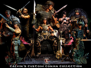 Calvin's Custom 1/6 one sixth scale Arnold Schwarzenegger as Conan the Barbarian custom figures