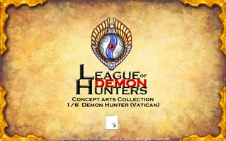 "GATE TOYS  ""League of Demon Hunters"" - Hunter 01 (Vatican) Concept Arts"