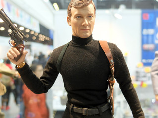 DiD Corporation showcased 1/6 Licensed Roger Moore and other new release at TOYSOUL 2017