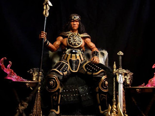Calvin's Custom 1/6 one sixth scale Arnold Schwarzenegger as King Conan, based on Conan the Barb