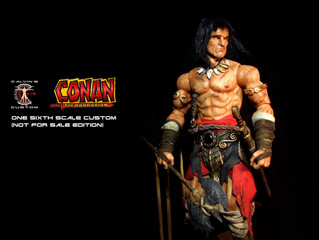 Calvin's Custom 1/6 one sixth scale custom Conan the Barbarian Comic Version
