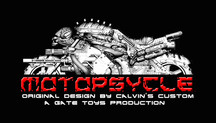 "Calvin's Custom X GATE TOYS renamed Kickstarter project to ""MOTOPSYCLE:mGT"""