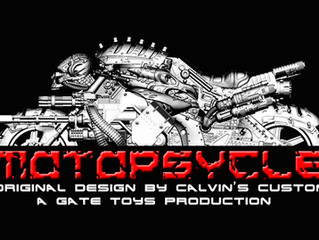 "Calvin's Custom X GATE TOYS renamed Kickstarter project to ""MOTOPSYCLE:mGT"""