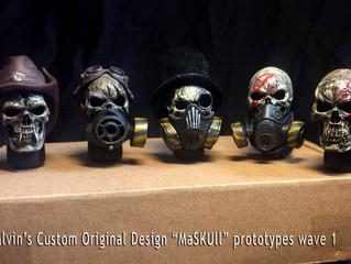 Calvin's Custom 1:6 Original Design MaSKULL Prototypes