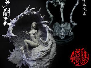 Award winning sculptor Feng yangkun's 1st show in Hong Kong