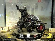 Calvin's Custom X GATE TOYS X 33 Industry 1/6 Project Obsidian: ZERO on MOTOTERMIN8TOR @ CICF201