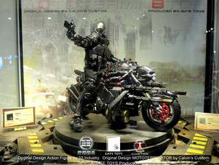 Calvin's Custom X GATE TOYS X 33 Industry 1/6 Project Obsidian: ZERO on MOTOTERMIN8TOR @ CICF201