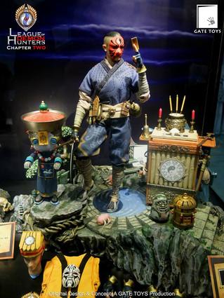 "GATE TOYS Original Design ""League Of Demon Hunters"" Chapter 2: Taoist Priest (Daoshi) debu"