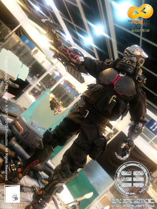GATE TOYS X 33 Industry Project Obsidian : Zero arrived at ACGHK2017