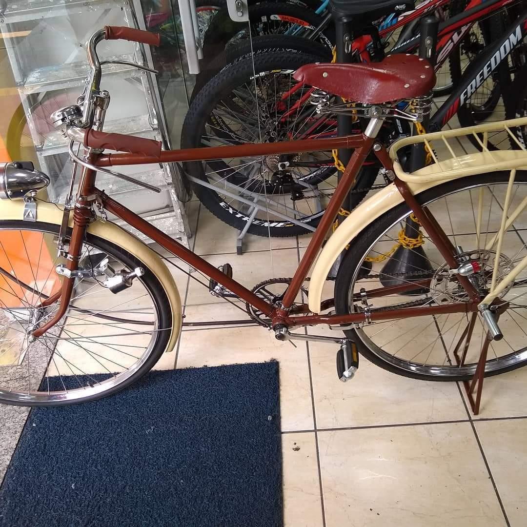 Restauração bicicleta Goricke - depois