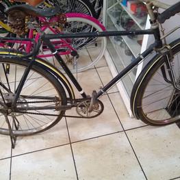 Restauração bicicleta Goricke - antes