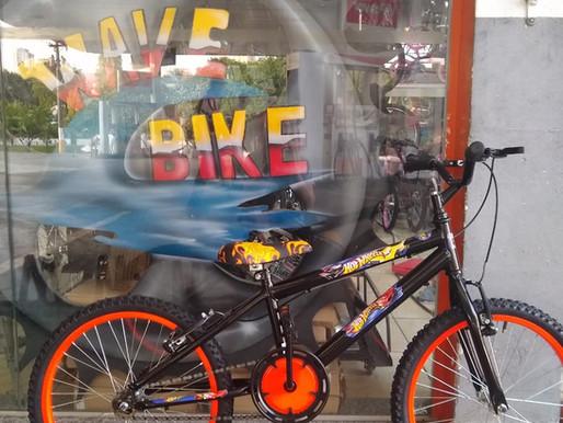 Dia das crianças é na Wave Bike!