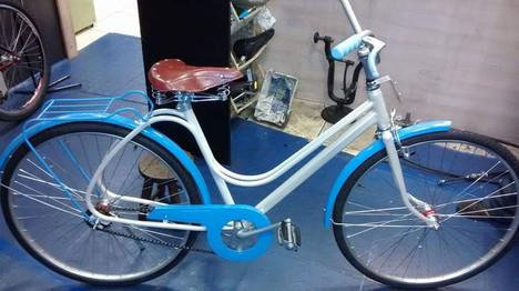Restauração bicicleta Ceci - depois