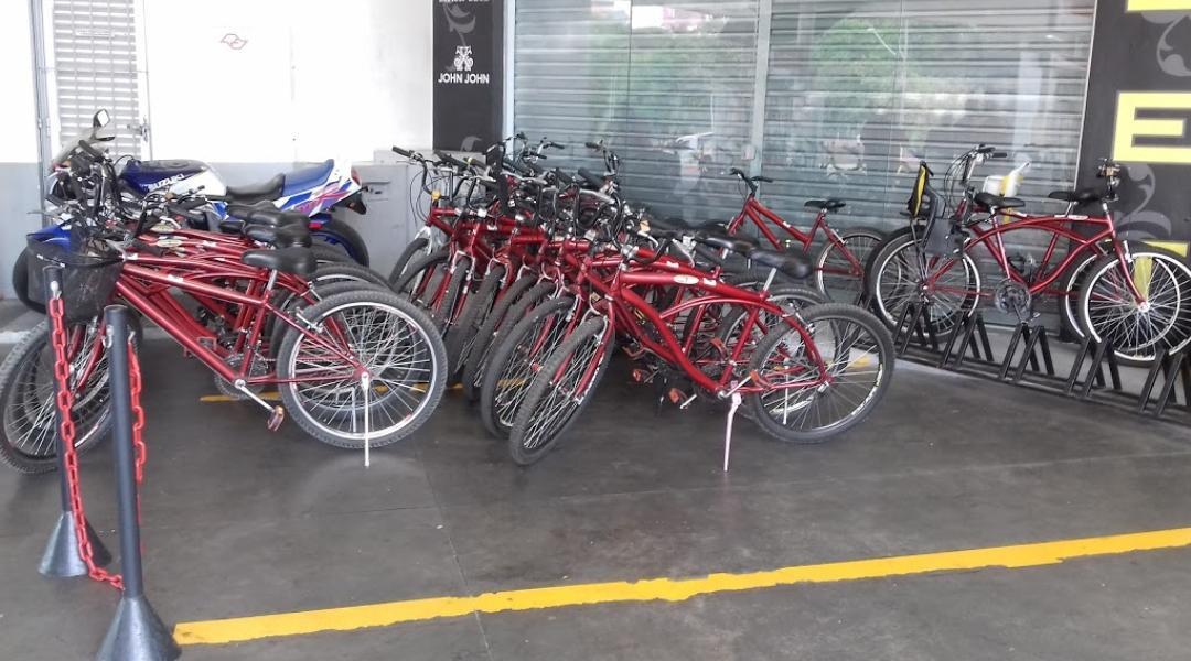 Bicicletas de aluguel