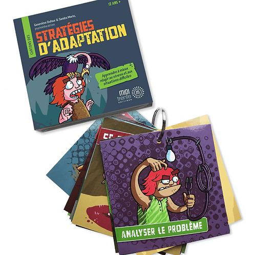 Stratégies d'adaptation - Cartons psychoéducatifs