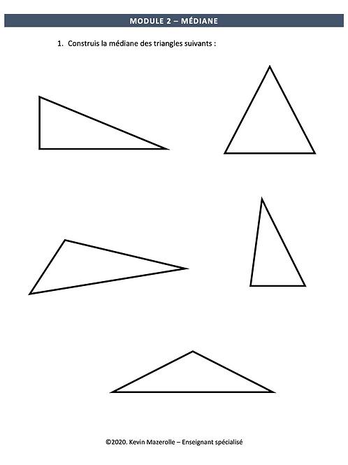 Module 2 - Médiane