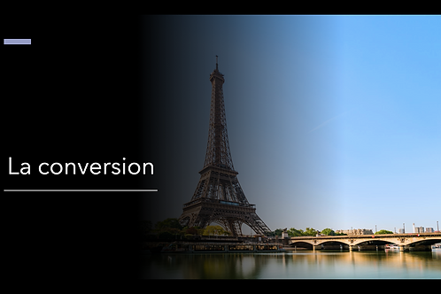 La conversion - PowerPoint