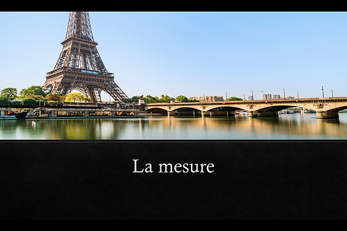 La mesure - PowerPoint