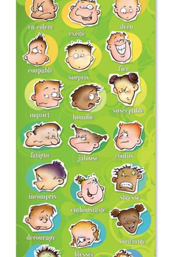 Affiche des émotions