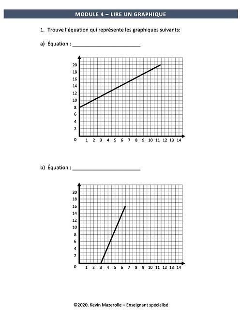 Module 4 - Lire un graphique