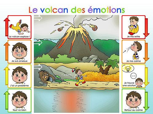 Le volcan des émotions - Ma valise de solutions
