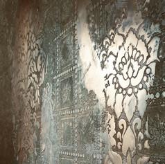 metallveredelung gipser maler wohnzimmer ideen