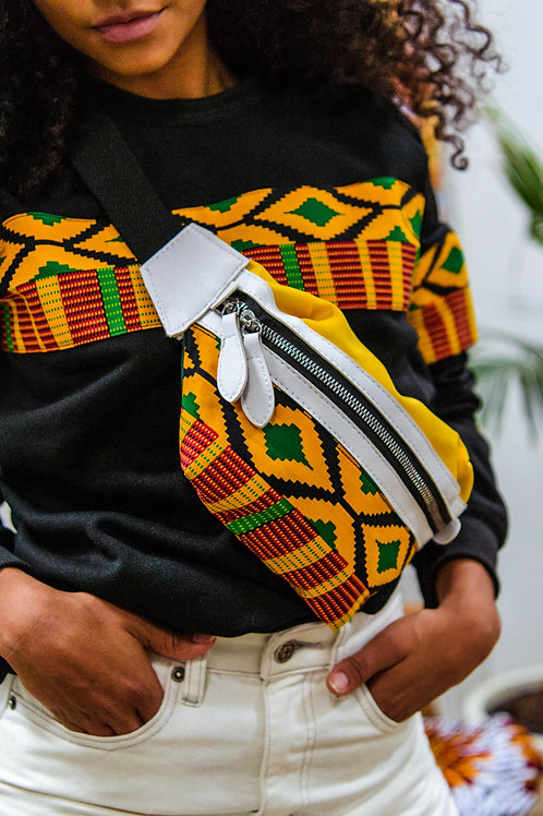 Rep Kulture Kente Fanny Pack