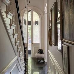 Brownstone Hallway