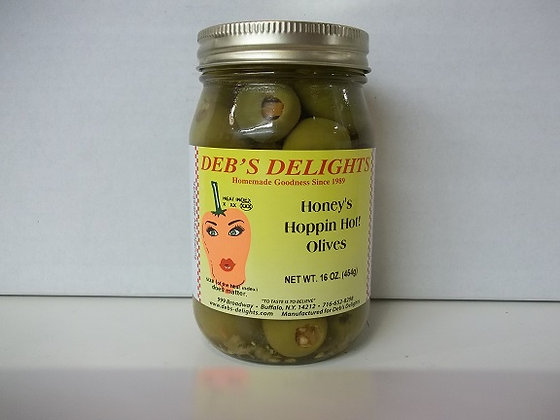 Hoppin' Hot Habanero Olives