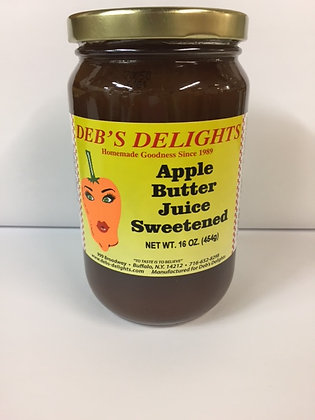 Apple Butter Juice Sweetened
