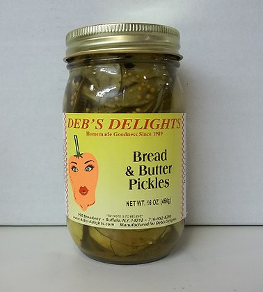 Bread & Butter Pickles - 16 oz.