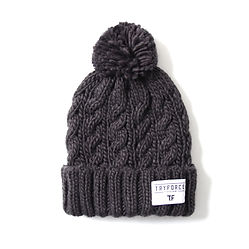 PONPON SOLID BEANIE_CHARCOAL.jpg