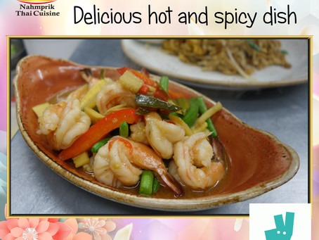 Prawn Drunken Stir Fried