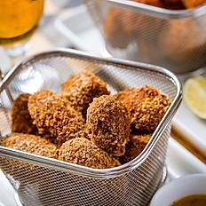 Croquete de carne e mostarda em grãos (10 un.)