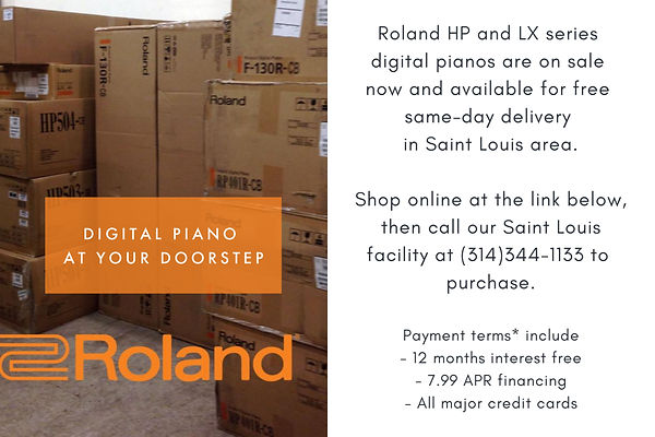 Roland Digital Pianos At Your Doorstep