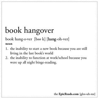 Book Hangovers Book Confessions #5