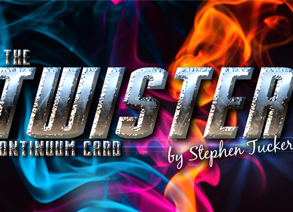 The Twister Continuum Card by Stephen Tuc